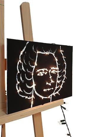 Travail d'élève - Séquence de l'option arts plastiques du lycée Marc Bloch - Val de Reuil - Normandie.