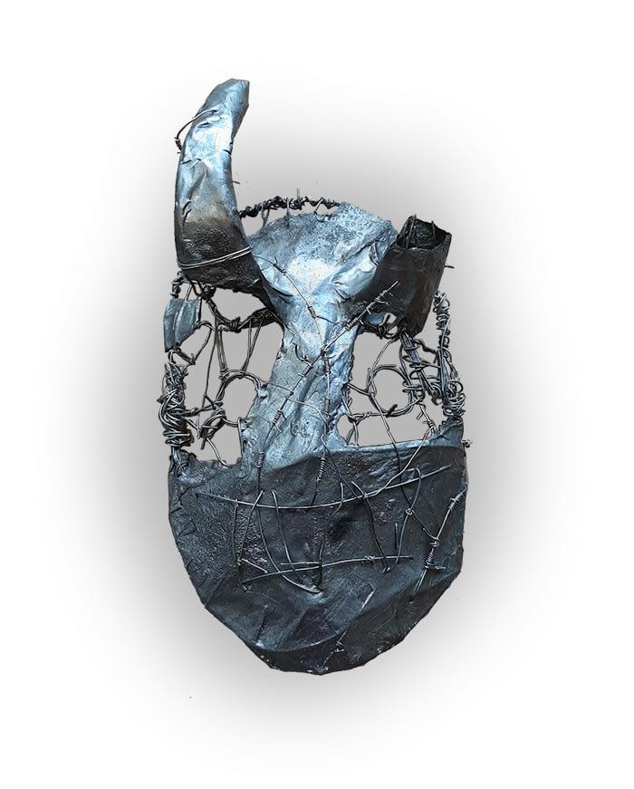 Travail d'élève, design, sculpture - Séquence de l'option arts plastiques du lycée Marc Bloch - Val de Reuil - Normandie.